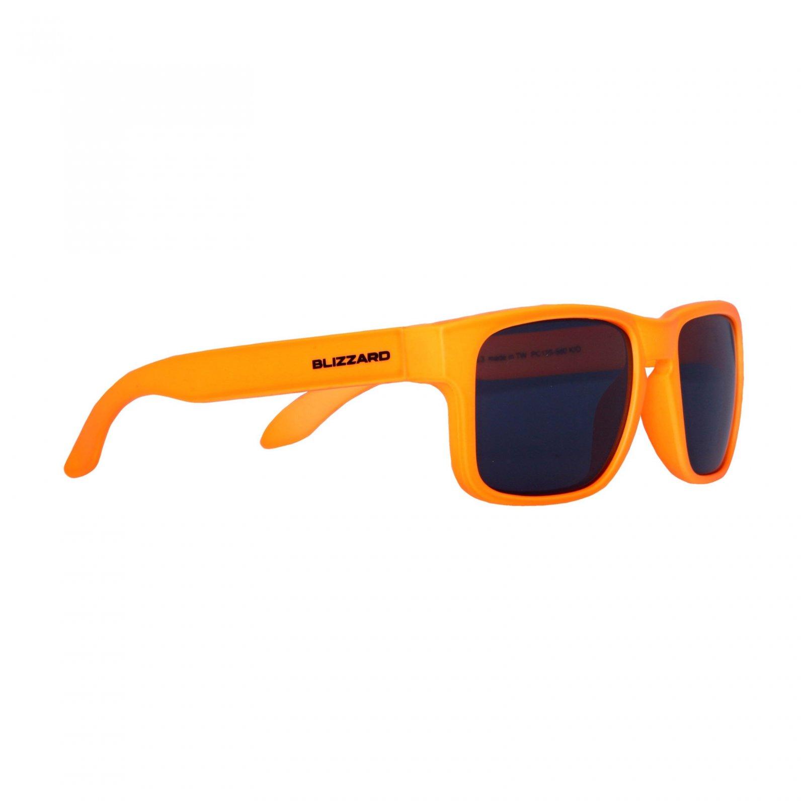 2b0994b35 Blizzard Sun Glasses PC125-880 Neon Orange Matt - Actisport.sk