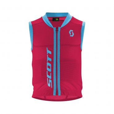 Scott Vest Protector Jr Actifit Berry Pink/Bermuda Blue