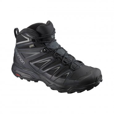 Salomon X Ultra 3 Wide Mid GTX bk/indi in L40129300 42