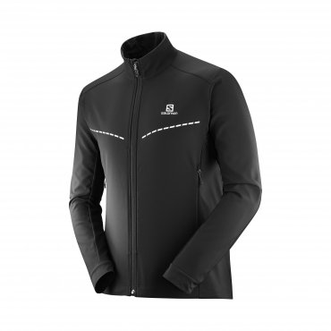 Salomon Agile Softshell JKT M black L40377800