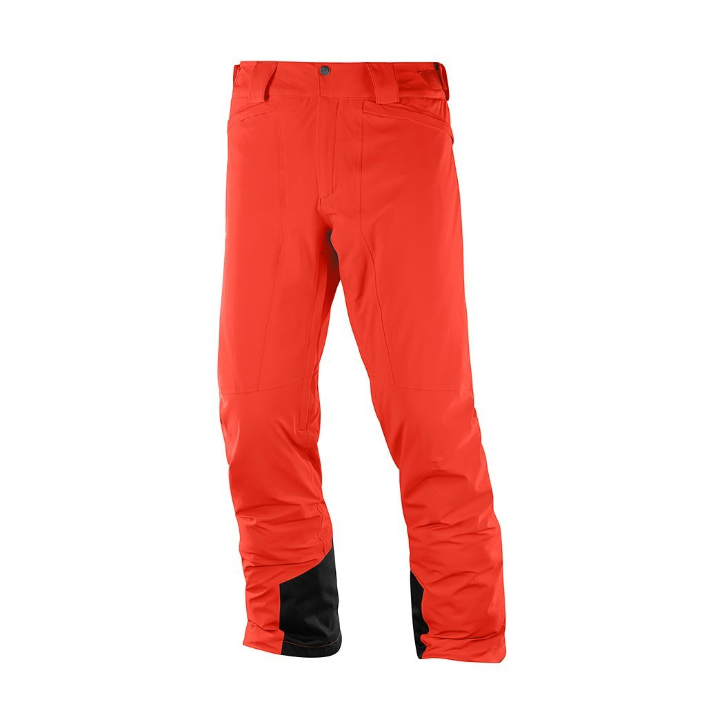 1a1dc2a4d Salomon Icemania Pant M fiery red LC1004200