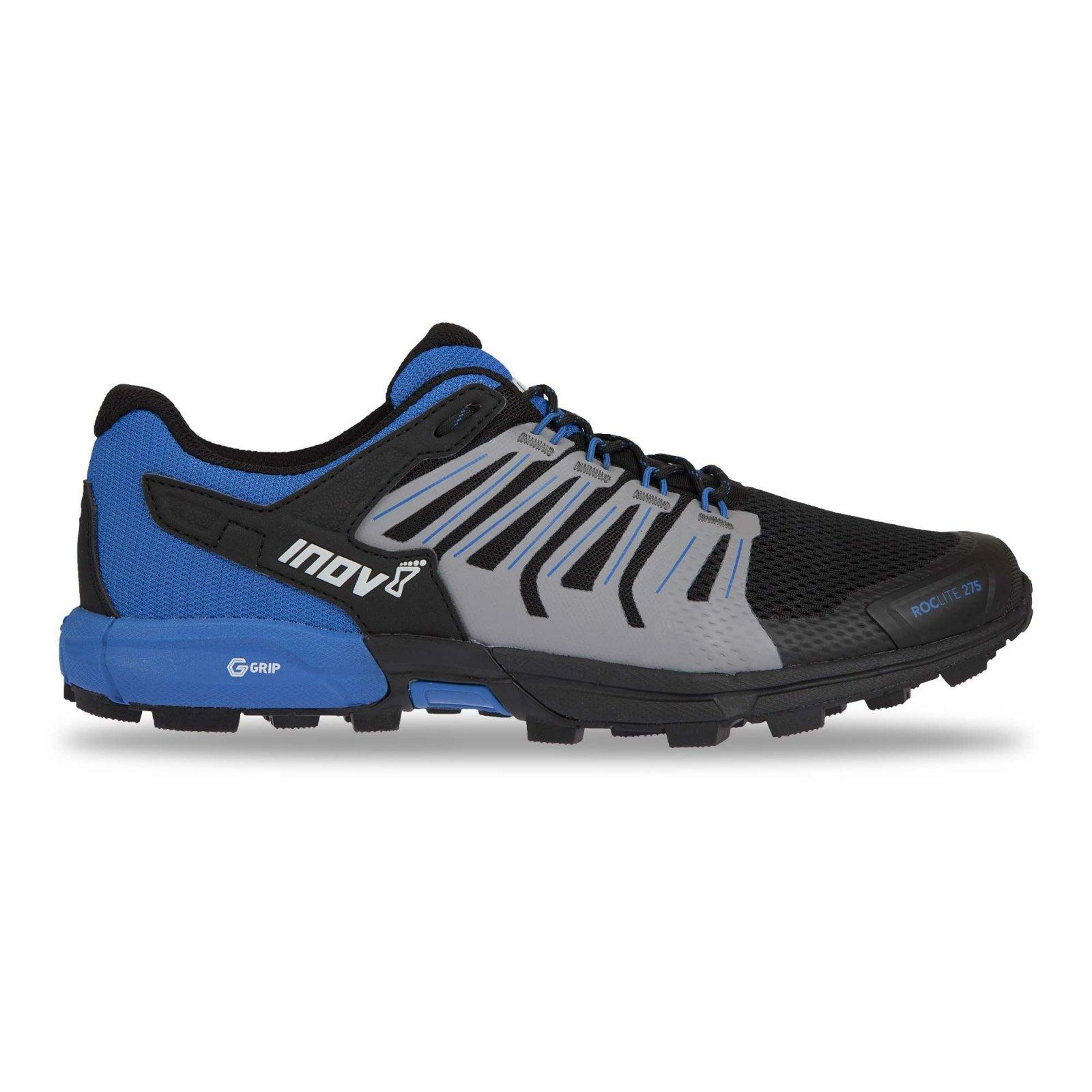 505b27676e Trailové boty Inov-8 Roclite 275 (M) black blue M 000806-BKBL-M-01 ...