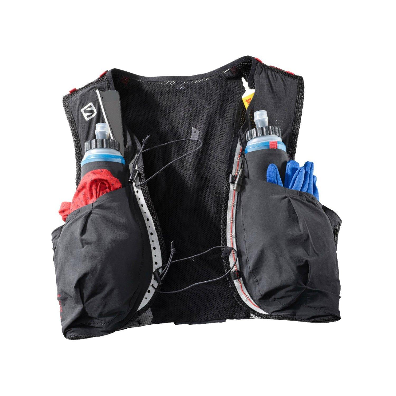 Salomon S-Lab Sense Ultra 8 Set L39381200 Black/Racing red XL