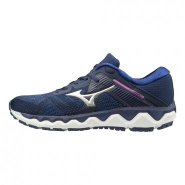 Mizuno Wave Horizon 4 W Medium Blue/Silver/Dark Blue J1GD202604