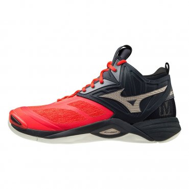 Mizuno Wave Momentum 2 Mid M ignition red/gold/salute V1GA211763